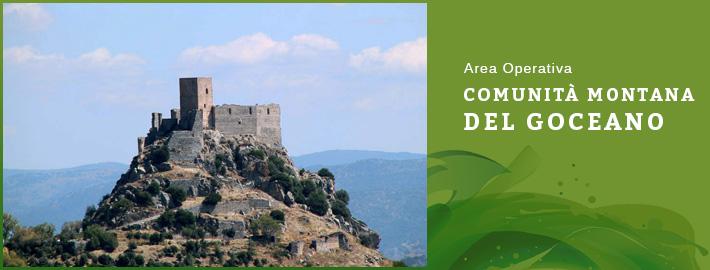 Area operativa - comunità montana del Goceano