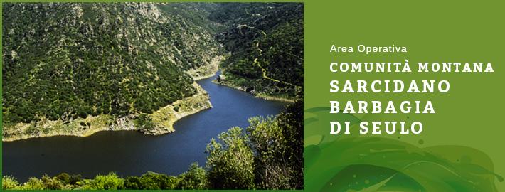 Area operativa: comunità montana Sarcidano Barbagia di Seulo
